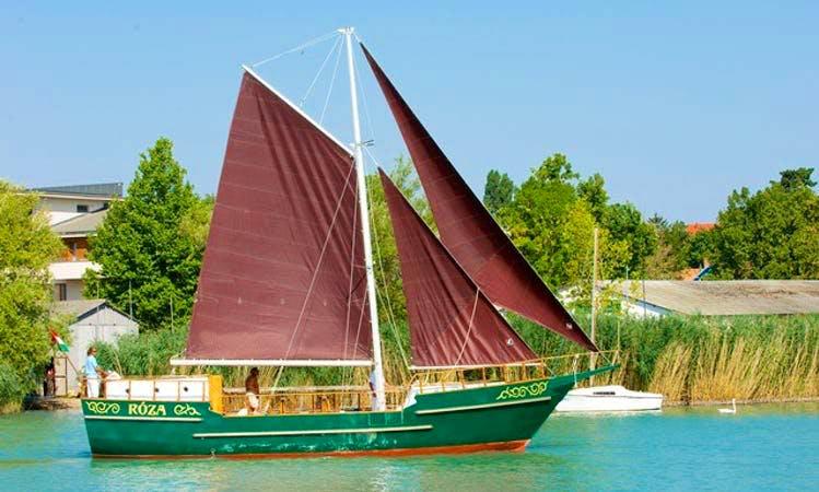 Rose Sloop Day Trips & Charter in Balatonfüred