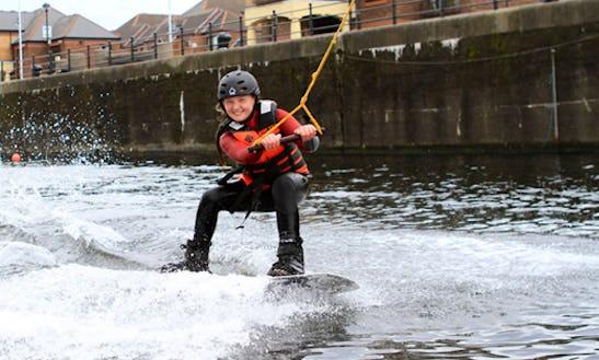 Wakeboarding In Liverpool, United Kingdom