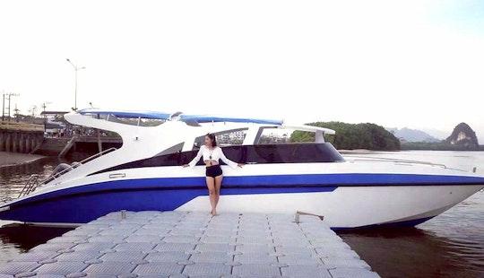 Explore Tambon Ao Nang, Thailand On A Motor Yacht Charter