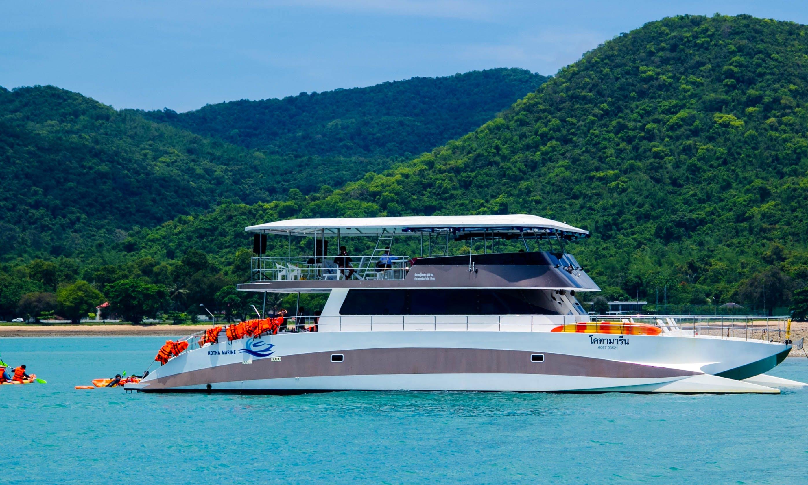 Power Catamaran KTM74 - Best Party Boat in Pattaya