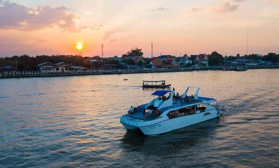 Catamaran For Private Boat Party / Dinner Cruise In Chaophraya, Bangkok