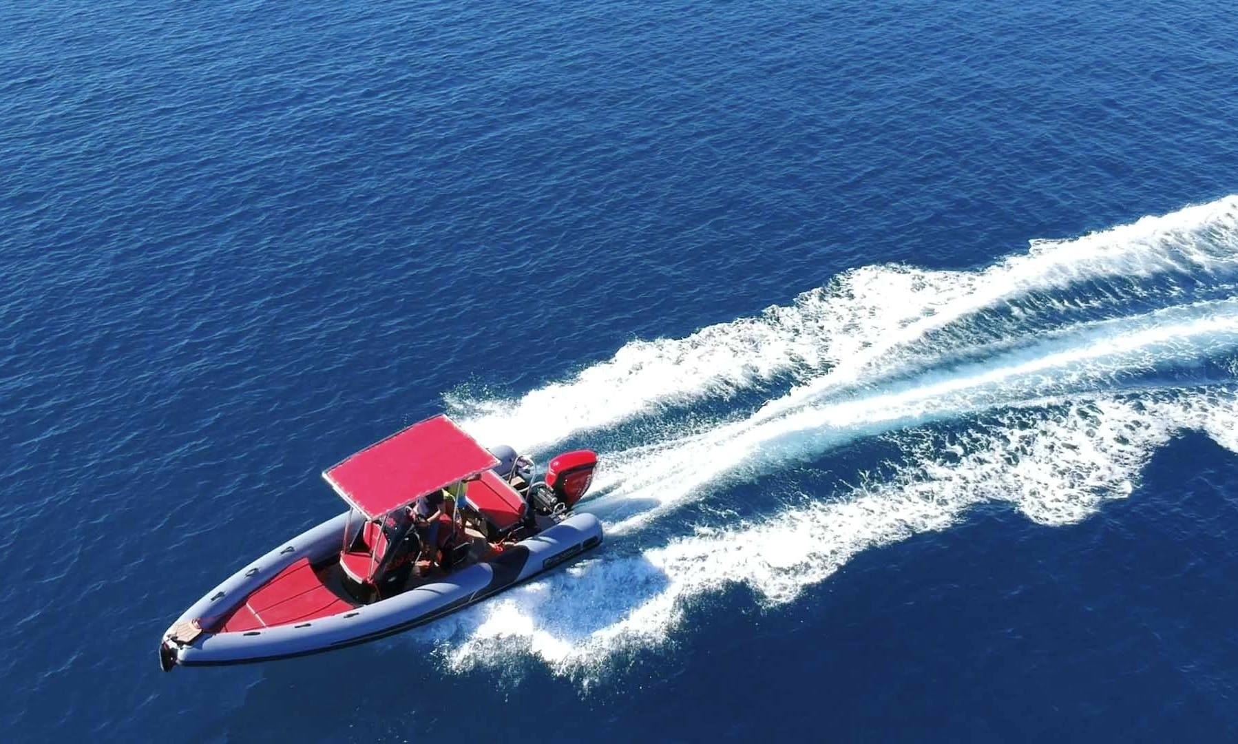 Best deal for daily adventure on sea!!!Stress free!!!Rent Rib Falkor 22 with skipper for 8 persons in Trogir