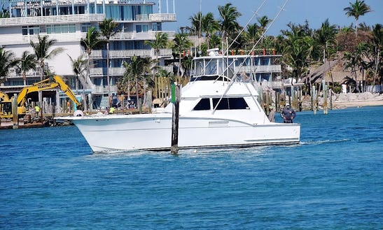 42 Ft Hatteras For Charter In