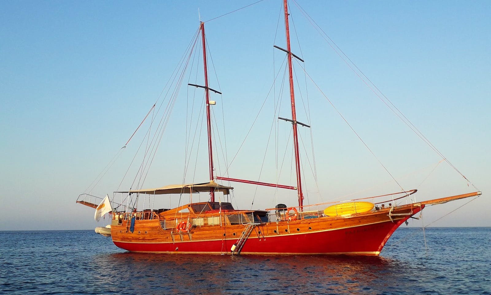 Private sailing yacht cruise for max 45Quests Larnaca Cyprus