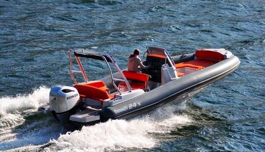 Marlin 790 Pro Specail Black Edition Rib Rental In Trogir