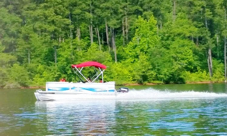 Enjoy Wake Forest on Crest Pontoon Boat