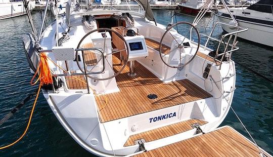 Enjoy Cruising Around The Adriatic Sea On Bavaria 34 Cruising Monohull
