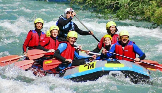 Engage In With A Hearth Pounding Rafting Trips In Flattach, Austria For 8 Persons
