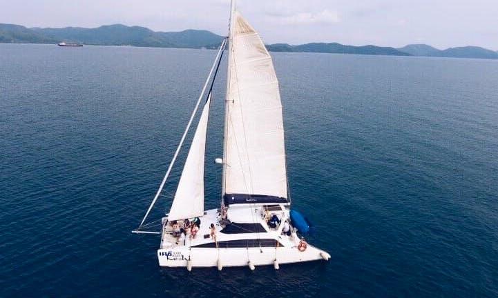 Charter The 38ft Keshi Sailing Catamaran in Muang Pattaya, Thailand
