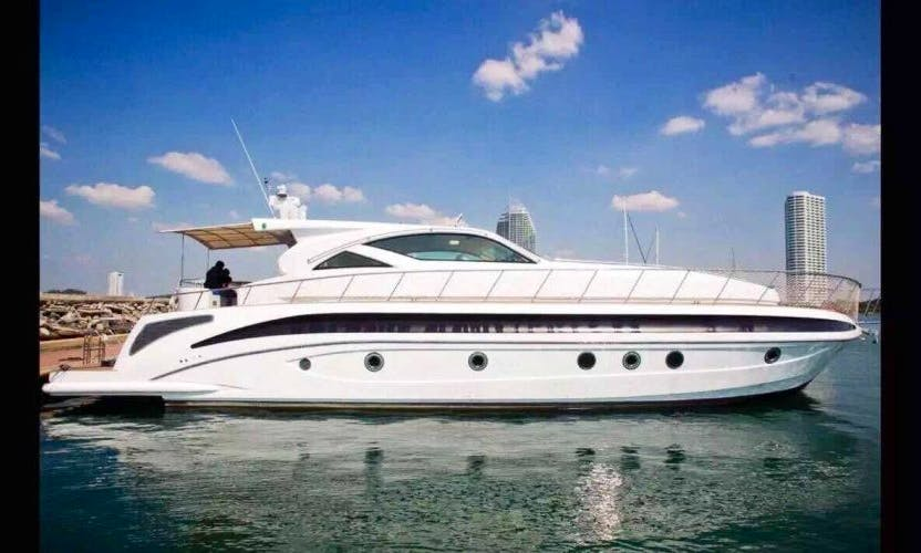 """Charter The 72ft """"Infinity"""" Power Mega Yacht In Muang Pattaya, Thailand"""