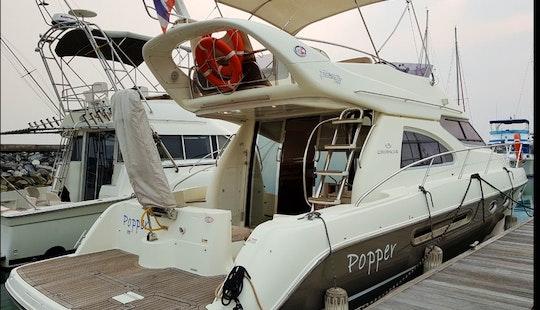 Charter The 40ft Cranchi Motor Yacht In Muang Pattaya, Thailand!