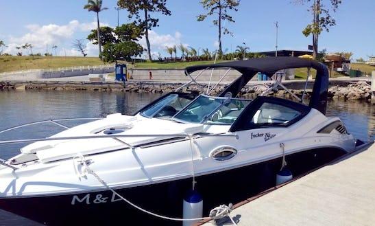 Focker 265 Black Motor Yacht Rental In Rio De Janeiro, Brazil