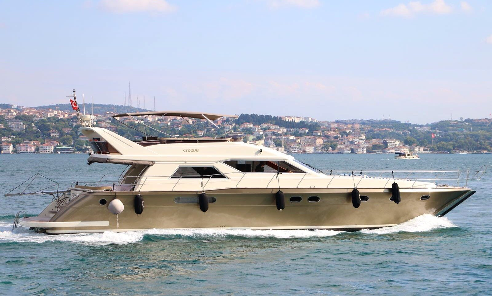 Book this Amazing All Inclusive Luxury Motor Yacht rental in İstanbul for a great time on the water