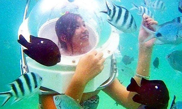 Underwater Sea Walking Adventure in Belle Mare, Mauritius