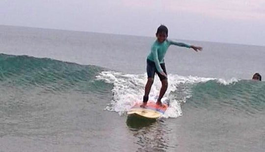 Surf Lessons In Kuta