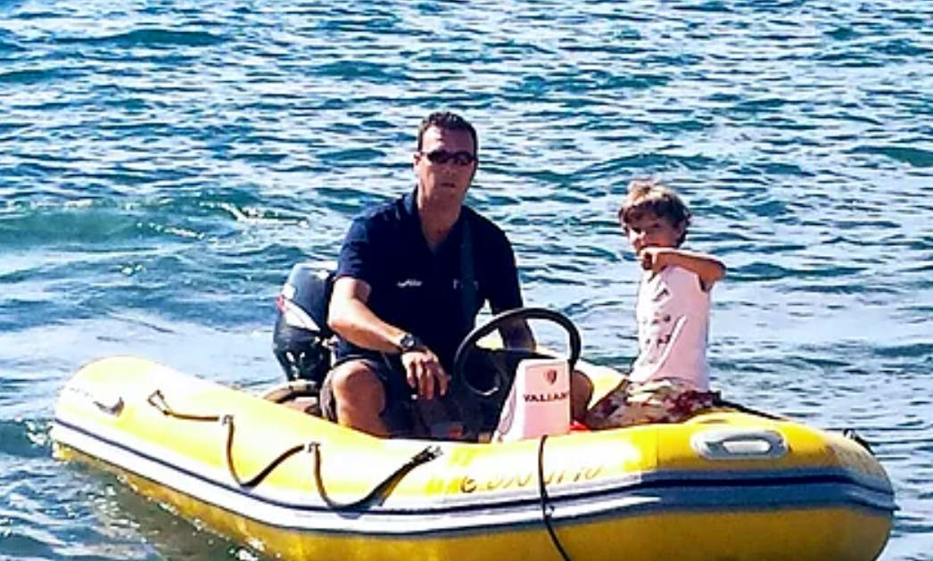 Self Driven Astec 345 RIB Rental for Up to 4 People in Almuñécar, Spain