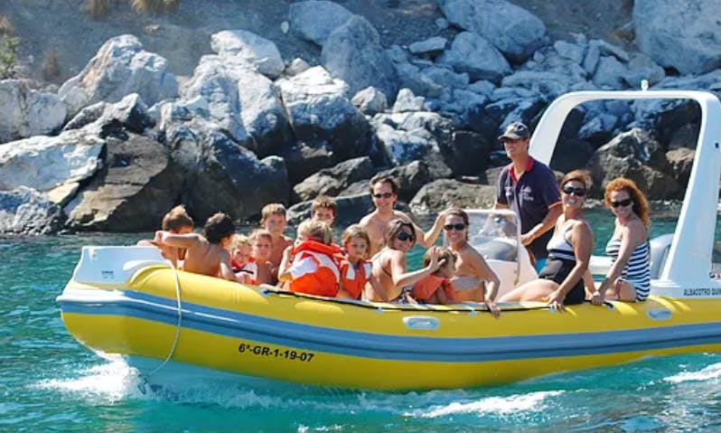 Astec 650 RIB Rental for Up to 12 People in Almuñécar, Spain
