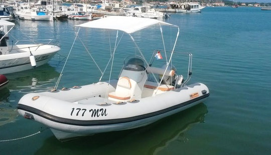 Rent 16' Bura Rigid Inflatable Boat In Murter, Croatia