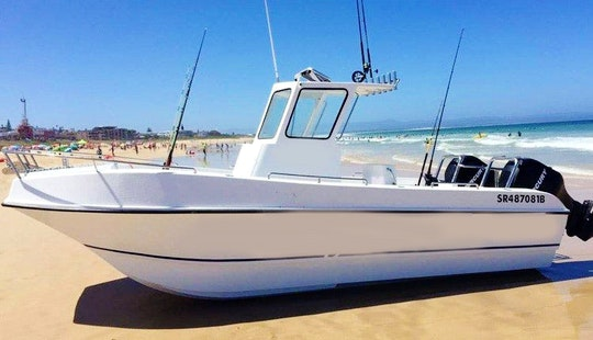 Experience Fishing In Cape Town, South Africa On Carrycat 670 Power Catamaran