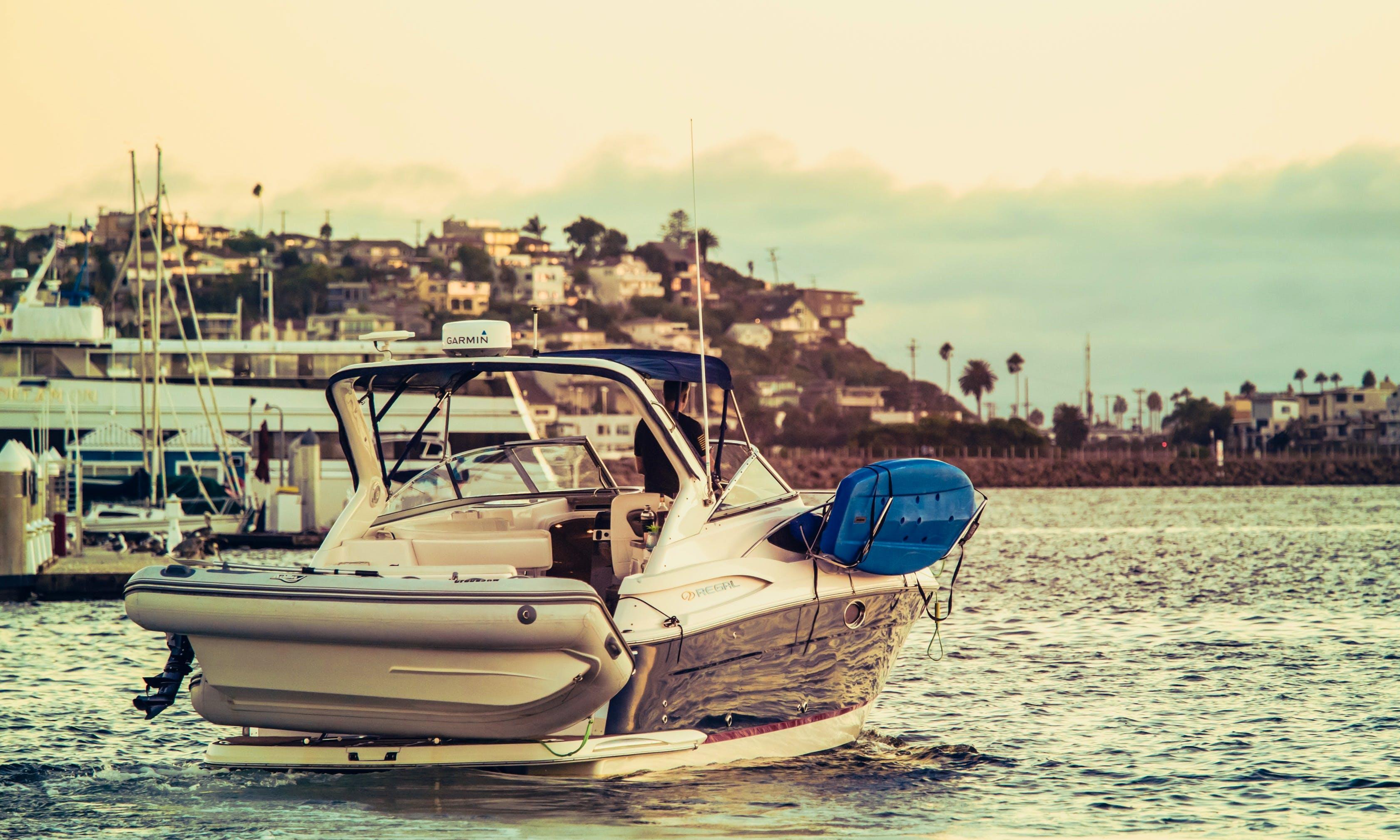 Newer 11' 32' Luxury w/toys SUP/Kayak, Dinghy etc.