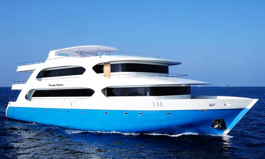 Fishing Holiday or Boat Tours around the Charming Maldives Sea