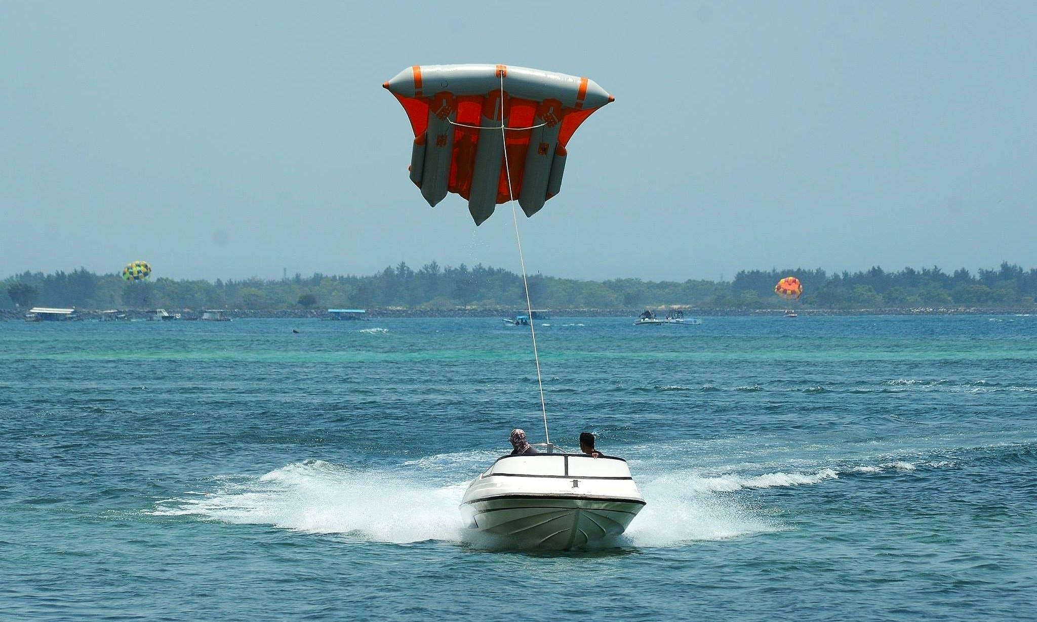 Adrenaline Fly Fish Expereince in Kuta Selatan, Indonesia