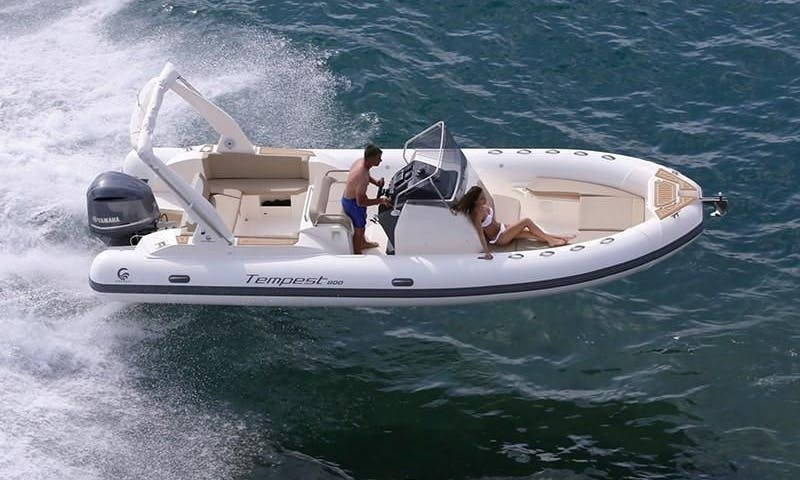Capelli Tempest 800 Inflatable Boat for 12 People in Palma, Spain