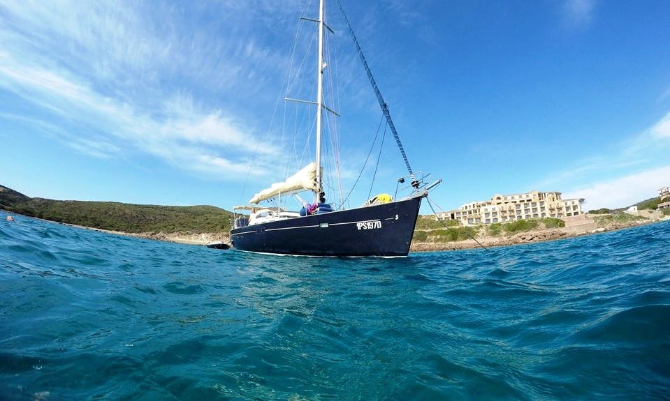 Skipper Charter a Cruising Monohull for 6 People in Cagliari, Italy
