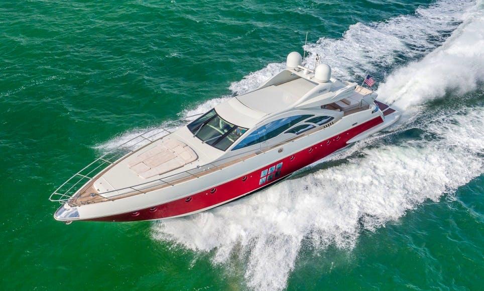86 Azimut in Miami Beach 3 Crew, Sleeps 8