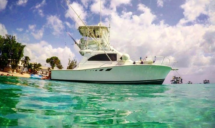 "Fishing Charter On 32ft ""Pipe Dream"" Sport Fisherman In Bridgetown, Barbados"