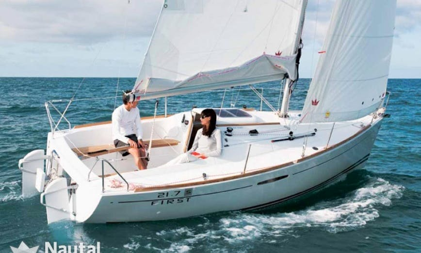 "6 person SAILING Monohull ""PITCH"" - rental in Haifa, Isreal"