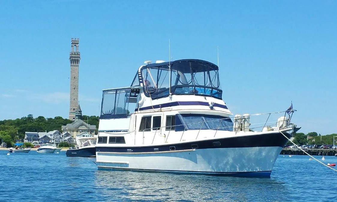 42' Trawler Charters in Hyannis, Massachusetts