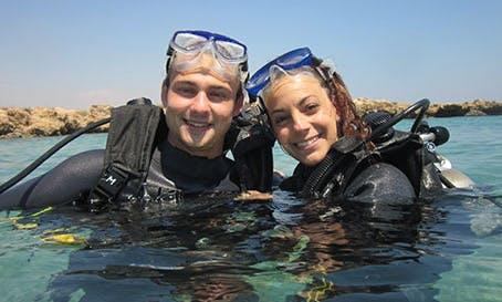 Diving in Protaras