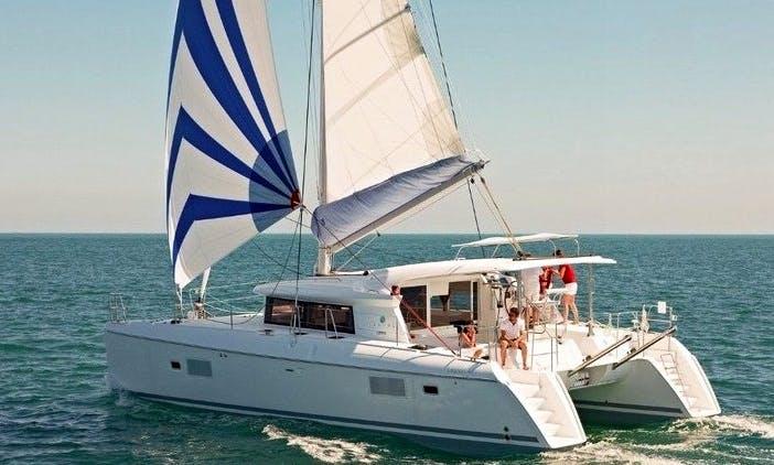 Power Catamaran  421 - Danuri rental in Lisboa