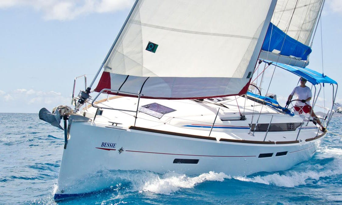 British Virgin Islands Cruise aboard a Gorgeous 41ft Cruising Monohull