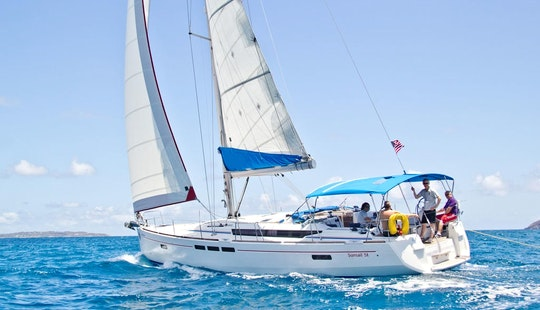 Visit All The Famous Islands Of Bvi On A 7 Day Cruise Aboard 51' Sailboat