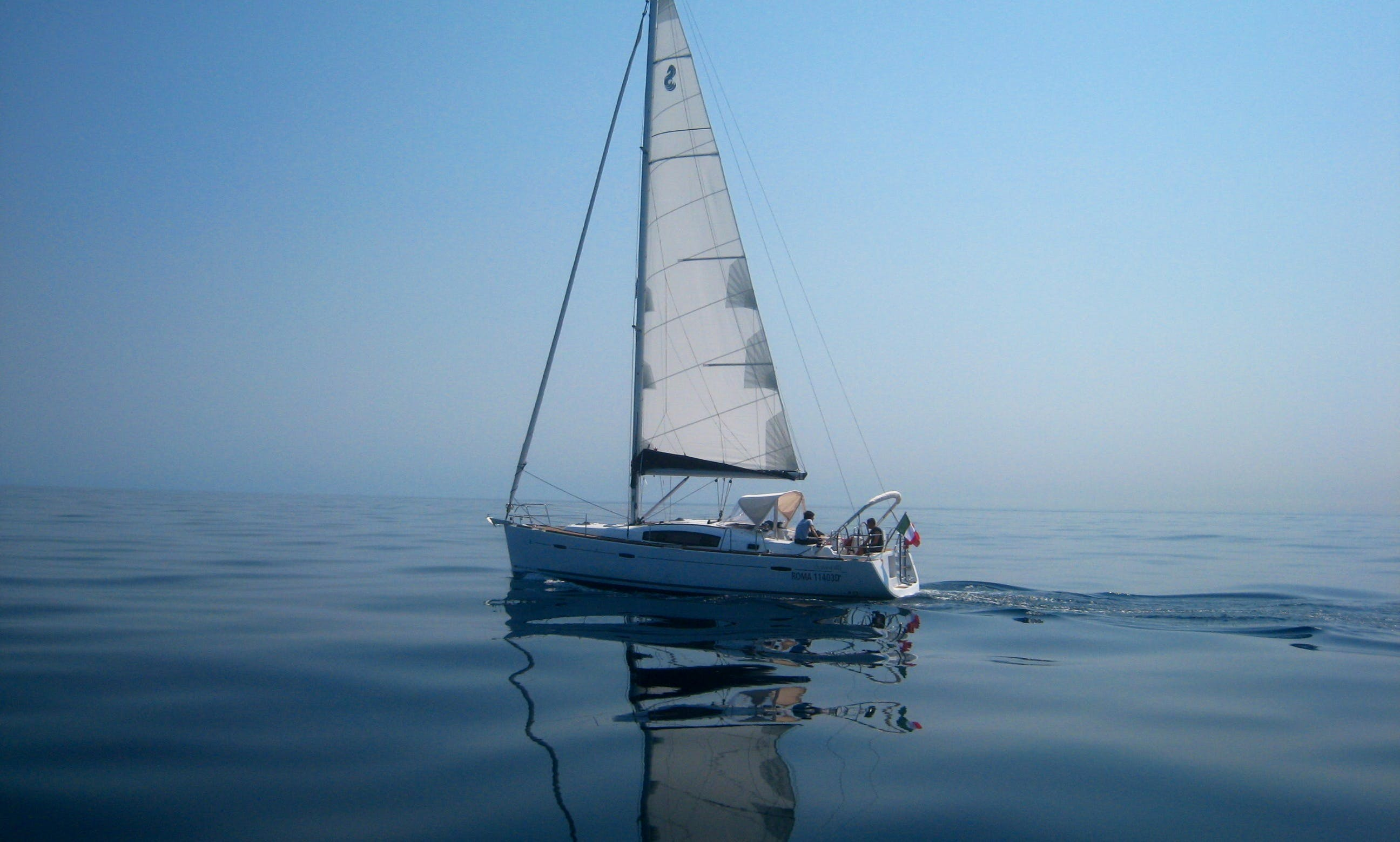 "Charter 40ft ""Peppina"" Oceanis 40 Sailing Yacht  In Nettuno, Italy"
