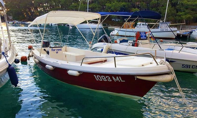 Rent Fly Mar Center Console in Valun, Croatia