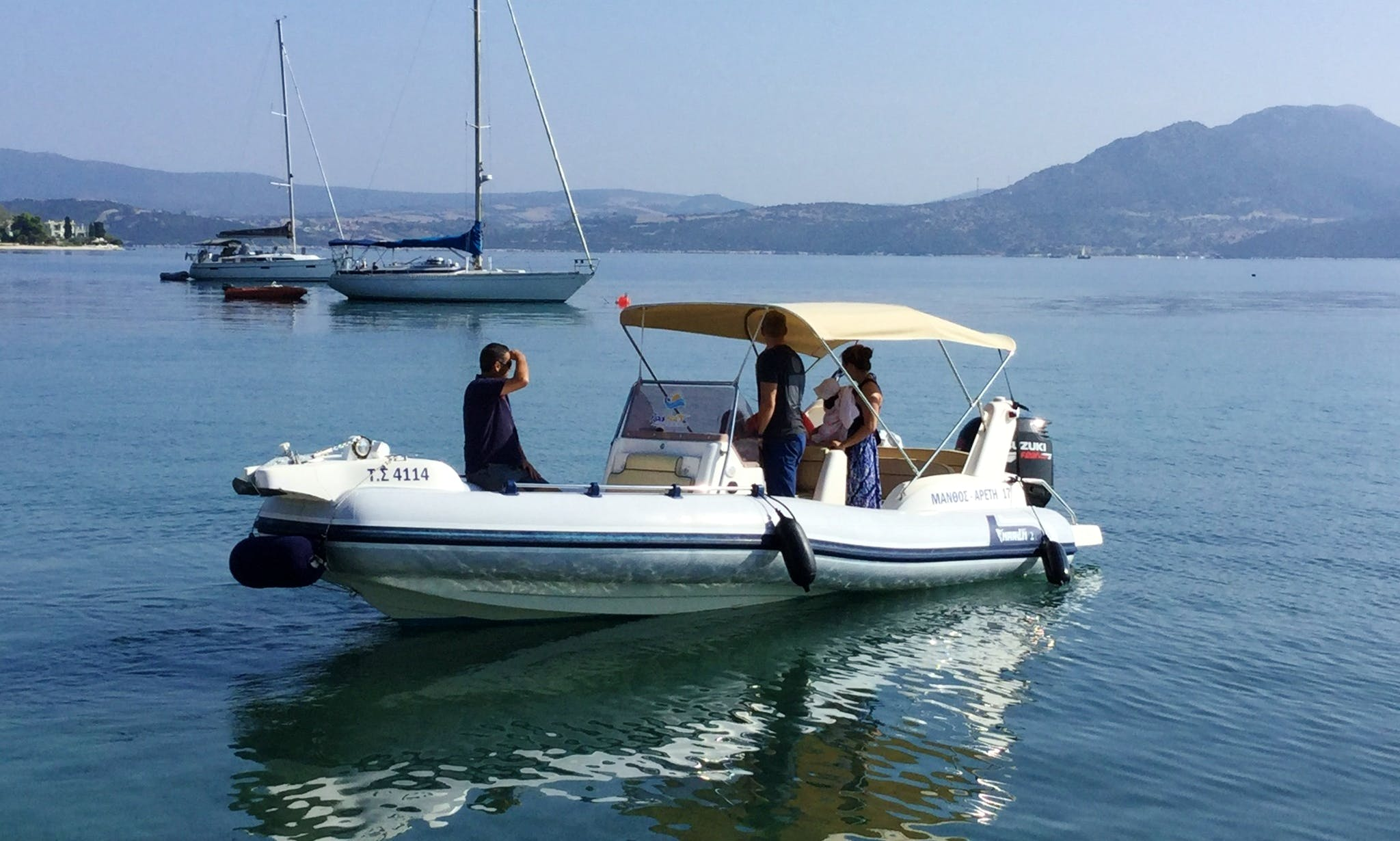 RIB Marlin 21 Suzuki 175hp 2018mod in Nikiana Lefkada Greece
