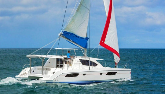 Sailing Adventure To The Spice Isle Of The Caribbean With A 4 Cabin Sailing Catamaran