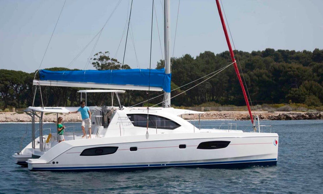 Hassle Free Sailing Experience with this 44' Sailing Catamaran in Saint George