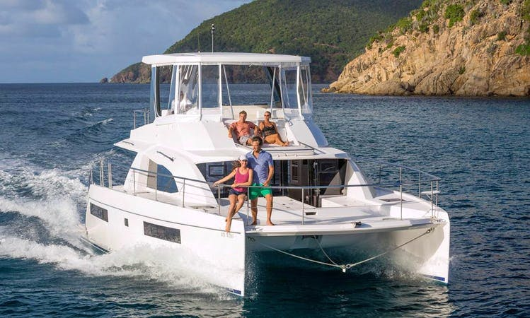 Spend Time Sailing The Beautiful Waters Of The BVI With Us!