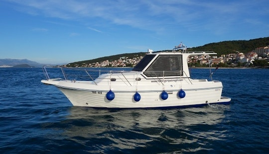 Captained Charter A 29' Adria 800 Motor Yacht In Trogir, Croatia