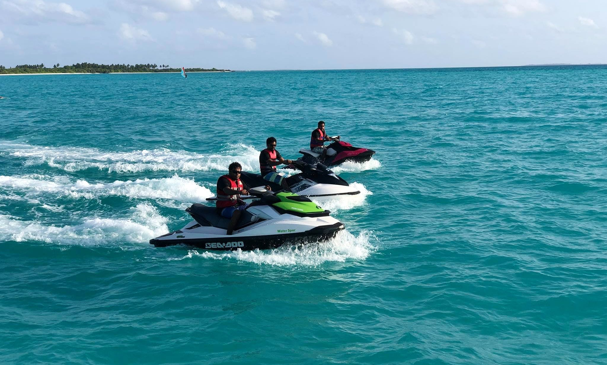 Jet Ski Rental in Kelaa, Maldives