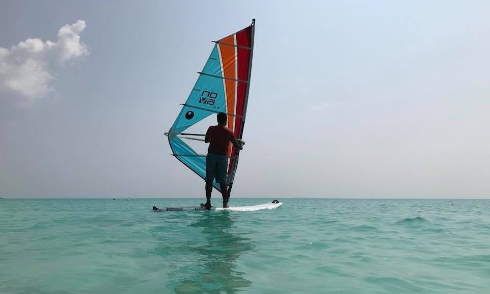 Windsurfing Lesson on a perfect location!