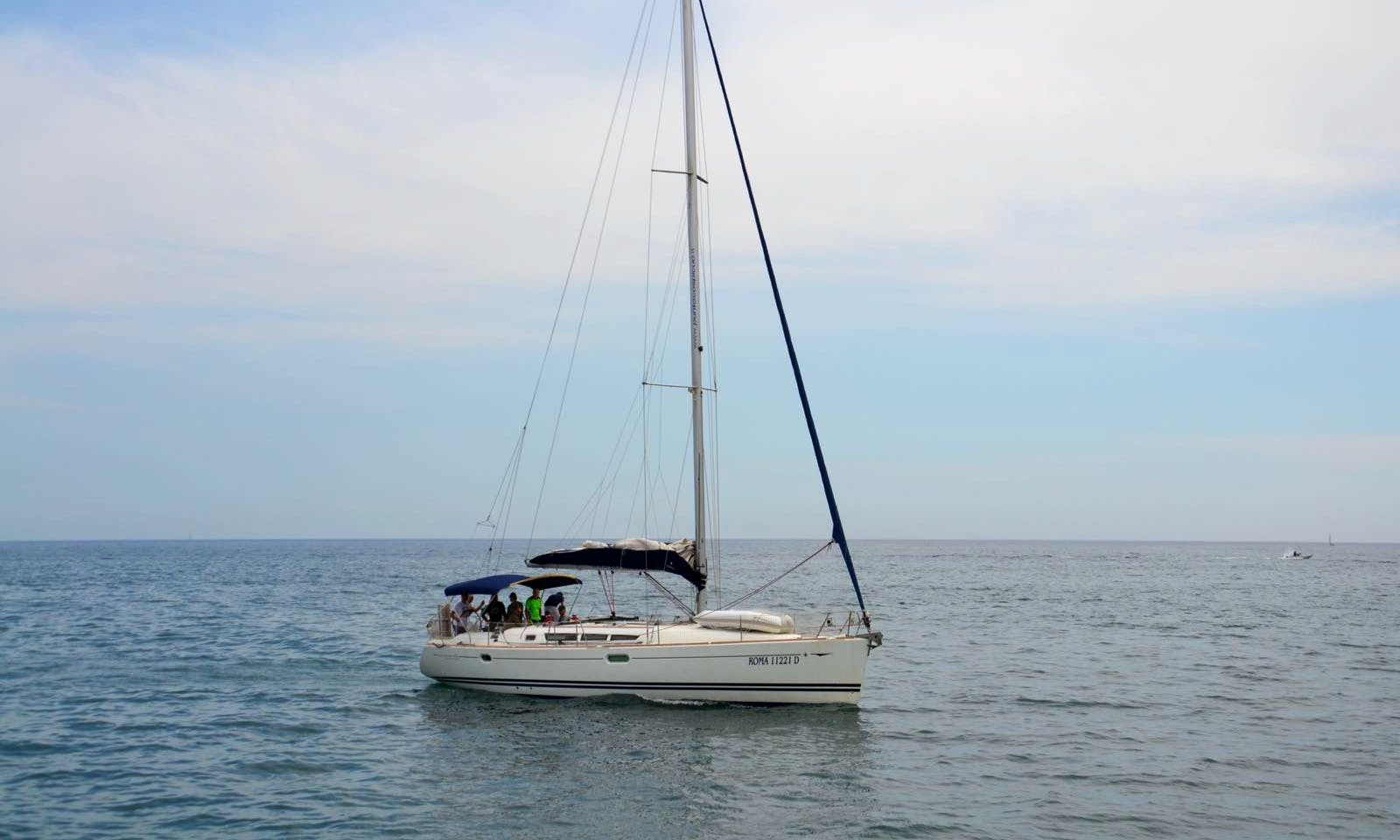 "Charter 45ft ""Aurora"" Sun Odyssey 45 Performance Sailing Yacht In Nettuno, Italy"