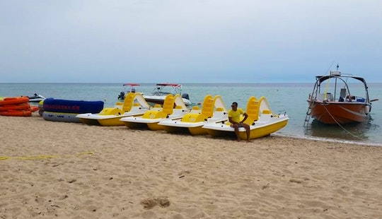 Rent A Pedal Boat For 4 Person In Chalkidiki, Greece