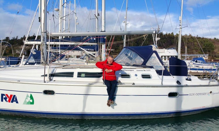 Charter 37' Sun Odyssey Cruising Monohull in Adrigole, County Cork