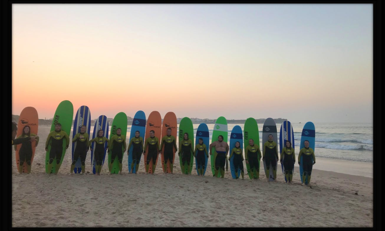 Surf Lessons with Professional Instructor in Peniche, Portugal
