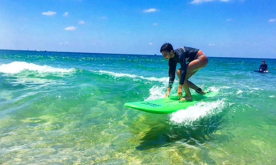 Join Us For Joyful Private Surfing Lessons In Tel Aviv, Israel!
